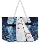 Big Sailors And Little Boats Weekender Tote Bag