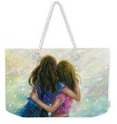 Big Sister Hug Weekender Tote Bag