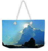 Big Sky Blue Weekender Tote Bag