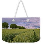 Big Sky Montana Wheat Field  Weekender Tote Bag