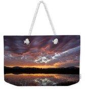 Big Sky Sunrise Weekender Tote Bag