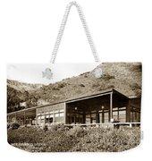 Big Sur Hot Springs Now The Esalen Institute California Circa 1961 Weekender Tote Bag