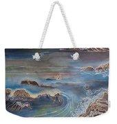 Big Sur In Sunset Weekender Tote Bag