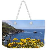 Big Sur Loves Yellow By Diana Sainz Weekender Tote Bag