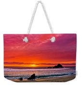 Big Sur Sunset Pfeiffer Beach Weekender Tote Bag