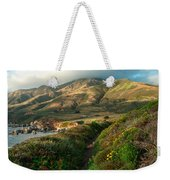 Big Sur Trail At Soberanes Point Weekender Tote Bag
