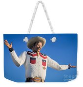 Big Tex - State Fair Of Texas - No. 2 By D. Perry Lawrence Weekender Tote Bag