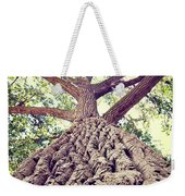 Big Tree Bark Weekender Tote Bag