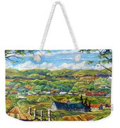 Big Valley By Prankearts Weekender Tote Bag