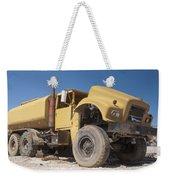 Big Wheels Not Rollin Water Truck Weekender Tote Bag