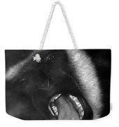 Big Yawn From This Monkey Weekender Tote Bag