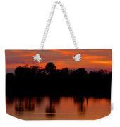 Big Cypress Sunset Weekender Tote Bag