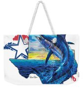 Bigger In Texas Weekender Tote Bag
