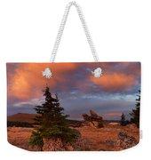 Bighorn Mountains Sunrise Weekender Tote Bag