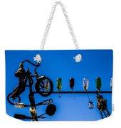 Bike Weekender Tote Bag