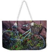 Bike In The Vines Weekender Tote Bag