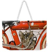 Bike - Motorcycle - Indian Motorcycle Engine Weekender Tote Bag