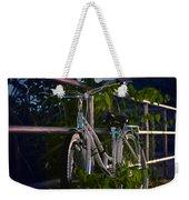 Bike Noir Weekender Tote Bag