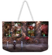 Bike - Ny - Chelsea - The Delivery Bike Weekender Tote Bag