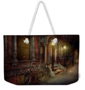 Bike - Ny - Greenwich Village - In The Village  Weekender Tote Bag