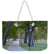 Bike Path Along Kelly Drive Weekender Tote Bag