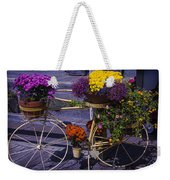 Bike Planter Weekender Tote Bag
