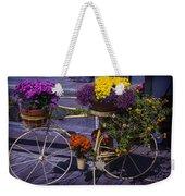 Bike Planter Weekender Tote Bag