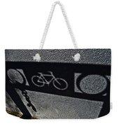 Bike Rack Shadow Weekender Tote Bag