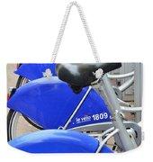 Bike Rental In Marseille Weekender Tote Bag