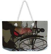 Bike Seat View Weekender Tote Bag