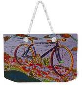 Bike Study Weekender Tote Bag
