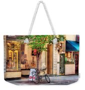 Bike - The Music Store Weekender Tote Bag