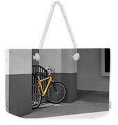Bike With Frame Weekender Tote Bag
