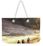 Bikers On Foresthill Divide Trail Weekender Tote Bag