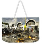 Bikes After The Storm  Weekender Tote Bag