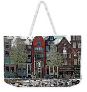 Bikes Everywhere In Amsterdam-netherlands Weekender Tote Bag