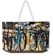 Bikes Hanging Around Weekender Tote Bag