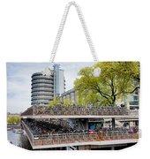 Bikes Parking In Amsterdam Weekender Tote Bag