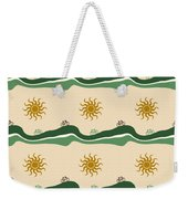 Bike Pattern Weekender Tote Bag