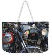 Old Motorbikes Weekender Tote Bag