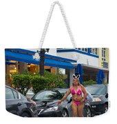 Bikini Bunny In Miami Weekender Tote Bag