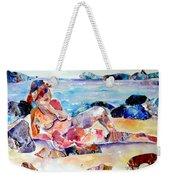 Bikini In Paradise Weekender Tote Bag