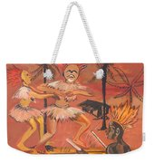 Bikutsi Dance From Cameroon Weekender Tote Bag