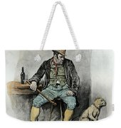 Bill Sykes And His Dog, From Charles Weekender Tote Bag