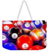 Billiard Balls On The Table Weekender Tote Bag