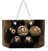 Billiards Art - Your Break - Bw Opal Weekender Tote Bag