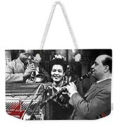 Billie Holiday Louis Armstrong Barney Bigard  New Orleans Set 1947-2010  Weekender Tote Bag