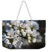 Billows Of Fluffy White Bradford Pear Blossoms Weekender Tote Bag