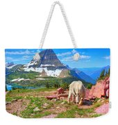 Billy Bearhat Weekender Tote Bag