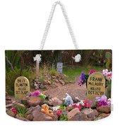 Billy Clanton And Frank Mclaury Weekender Tote Bag